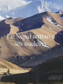 Népal - Le Népal retrouve ses couleurs - Express