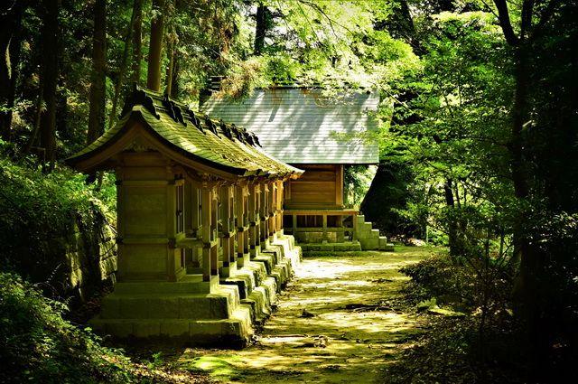 Japon Fukuoka sanctuaire shinto Dazaifu tenman-gu